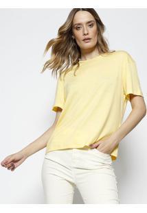 Camiseta Lisa - Amarelacanal