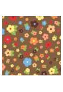 Papel De Parede Autocolante Rolo 0,58 X 3M - Floral 1333