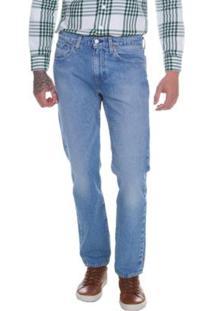 Calça Jeans 502 Levis Regular Taper Média Masculina - Masculino-Azul