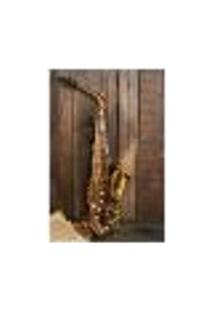 Painel Adesivo De Parede - Saxofone - 580Pn-G