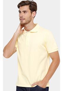 Camisa Polo Bluebay Piquet Lisa Color Masculina - Masculino