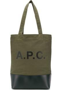 A.P.C. Bolsa Tote - Verde