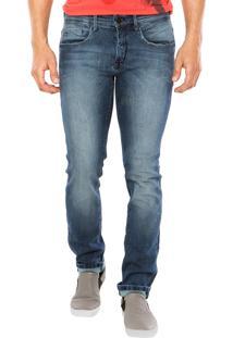 Calça Jeans Calvin Klein Jeans Super Skinny Azul