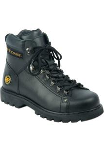 Bota West Coast Adventure Worker Classic - Masculino-Preto