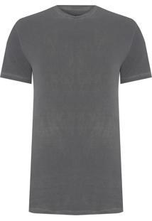 Camiseta Masculina Ckj Jeans Logo - Cinza