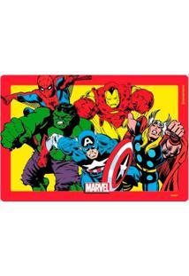 Jogo Americano Marvel Comics Geek10 Vermelho