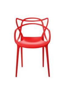 Cadeira Allegra Vermelha Rivatti
