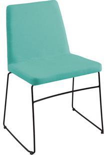 Cadeira Paris T1130-Daf Mobiliário - Azul Turquesa