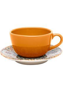 Xícara De Chá Com Pires Bothâica Ay04-5606