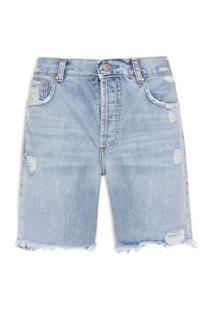 Bermuda Feminina Jeans Vintage - Azul