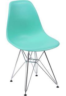 Cadeira Eames- Verde ÁGua- 80,5X46,5X42Cm- Or Deor Design