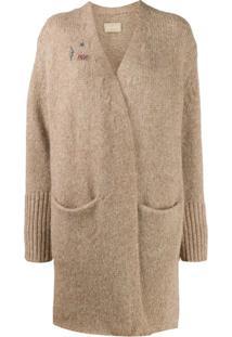 Zadig&Voltaire Wrap-Style Knit Cardigan - Neutro