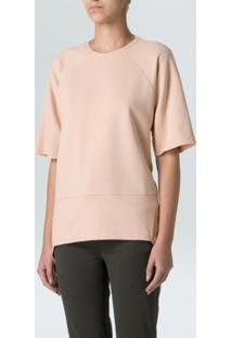 Blusa Eco Unequal Back-Nude - P