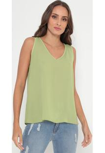 Blusa Lisa - Verde- Lança Perfumelança Perfume