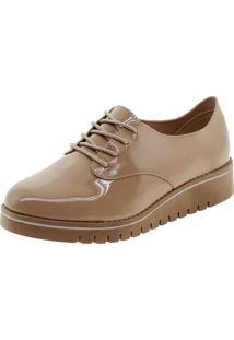 Sapato Feminino Oxford Bege Beira Rio - 4174101