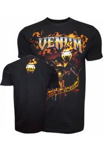 Camiseta Venum Motoqueiro Fantasma Preta