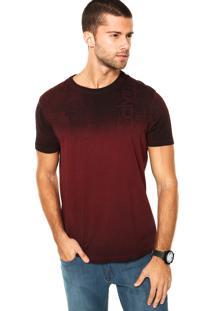 Camiseta Calvin Klein Superior Bordô