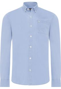 Camisa Masculina Frankie Jeans - Azul