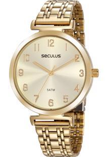 Relógio Seculus Feminino 20872Lpsvds3