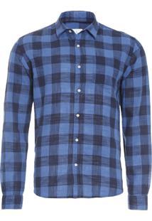 Camisa Masculina Cartagena - Azul