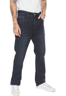 Calça Jeans Hering Reta Azul