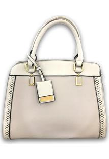 8ddad5dbd ... Bolsa Casual Importada Sys Fashion 2736 Branco