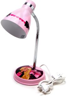 Luminária Prince Kids Barbie Rosa Bivolt Startec