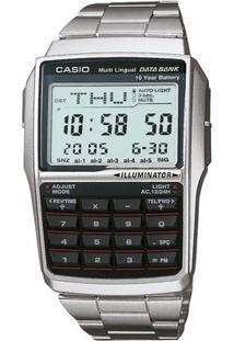 Relógio Casio Vintage Dbc-32D-1A - Feminino-Prata