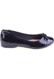 Sapatilha Shop Shop Shoes Biqueira Laço - Feminino