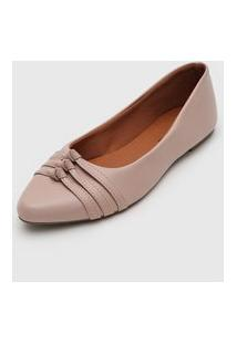 Sapatilha Dafiti Shoes Tiras Rosa