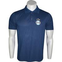 Camisa Pólo Gremio Poliester masculina  baf6e1cefe540