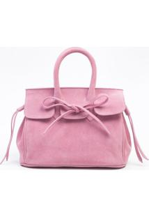Bolsa Le Lis Blanc Lily Hot Pink Couro Rosa Feminina (Hot Pink, Un)