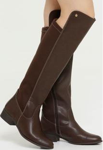 Bota Feminina Over The Knee Via Marte