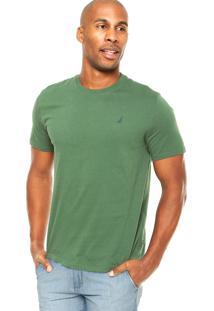 Camiseta Nautica Conforto Verde-Escuro