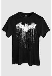Camiseta Dc Comics Batman Melting Bandup! - Masculino-Preto