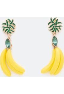 Brinco Médio De Bananas