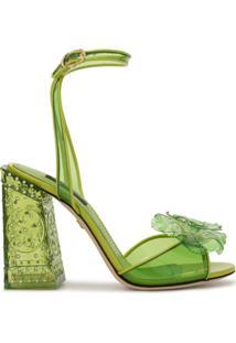 Dolce & Gabbana Sandália Keira - Verde