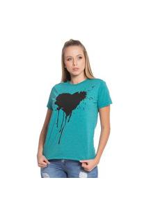 Blusa Feminina Com Coração 31072Pa (31072Pa) G Verde
