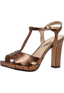 Sandália Veleno Eclisse Bronze