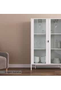 Cristaleira Lift- Branca- 136X90X36Cmartesano Moveis