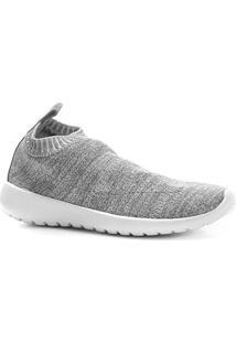 63d715d4243 ... Tênis Shoestock Jogging Feminino - Feminino-Cinza