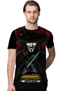 Camiseta Stompy Anonymous Masculina - Masculino