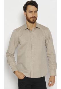 Camisa Slim Fit Coraã§Ãµes - Begevip Reserva