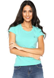 Camiseta Polo Wear Slim Verde