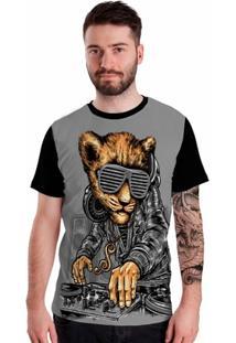 Camiseta Stompy Bear Dj - Masculino
