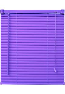 Persiana Up Pvc 25Mm 140X130 - Evolux - Violet