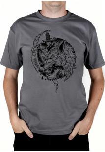 Camiseta Bleed American Beast Chumbo