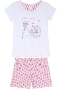 Shortdoll Kalm 100% Algodão Bicicleta