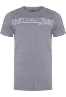 Camiseta Masculina Indoor Volley Ii - Cinza