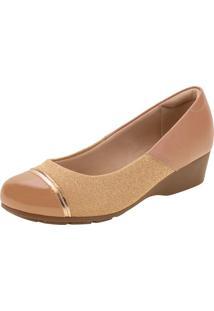 Sapato Feminino Anabela Modare - 7014263 Salmão 35